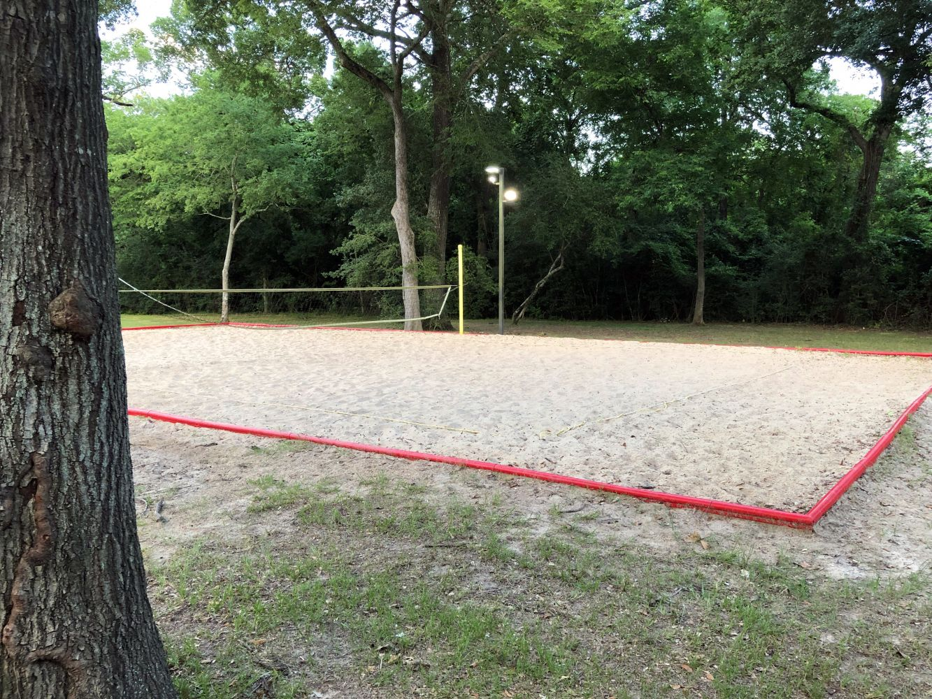 Sand Volleyball at the Water Park